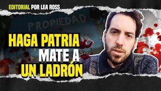 EL JUBILADO Y LA GRIETA 🚨 HAGA PATRIA. MATE A UN LADRÓN