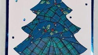 LIve Stream Class Iris Folding Christmas Cards