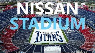 DRONE Nissan Stadium (Tennessee Titans) - KEN HERON [4K]