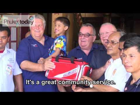 Phuket expat group aids Kusoldham Foundation