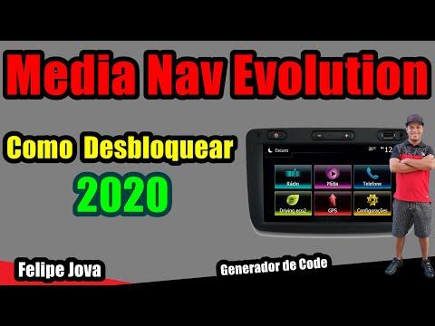 Media Nav Evolution - Desbloquear 2020