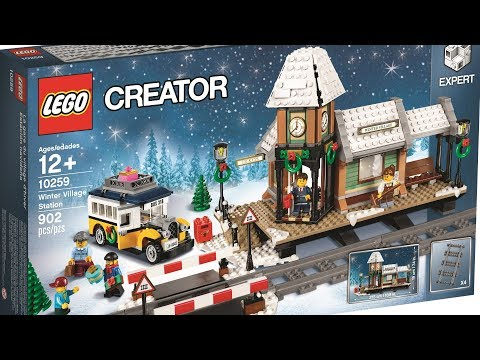 LEGO Winter Village Station (Creator Set 10259 Klemmbausteinlyrik News Nr. 46)