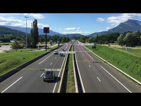 Vehicles speed: