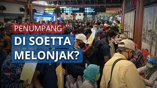 Antrean Panjang di Bandara Soekarno-Hatta saat PSBB, Manager Bantah: Bukan Lonjakan Penumpang