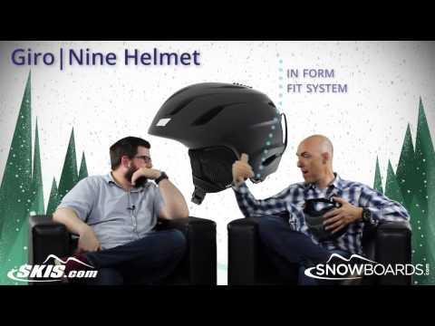 Video: 2015 Giro Nine Helmet Overview by SkisDOTcom and SnowboardsDOTcom