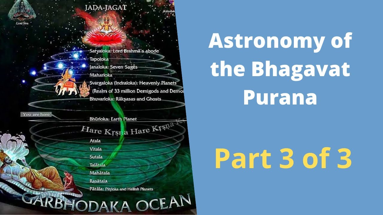 Astronomy of the Bhagavat Purana Part 3 of 3: Vedic / Hindu world view