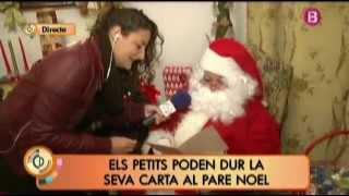 preview picture of video 'La Casa de Papá Noel en S'Arenal en el programa Cada Día, de IB3'