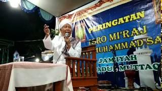 Merinding ..!! Ceramah KH.A. Hamid Mannan Munif Di Bandung (Peringatan Isro' Mi'roj)