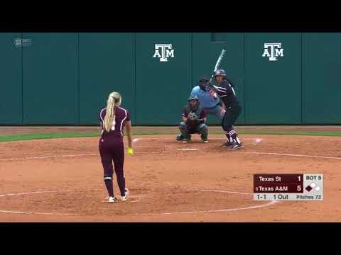Softball: Highlights | A&M 6, Texas State 3/A&M 1, Utah 0