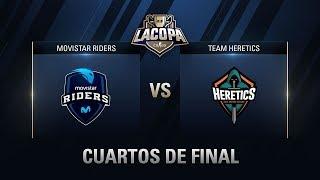 MOVISTAR RIDERS VS TEAM HERETICS - CUARTOS DE FINAL - MAPA 1 - #CopaCSGOCuartos