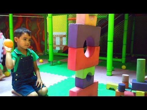 Legoland Playground for kids + Indoor Playground at Zippyland Amusement Park!!