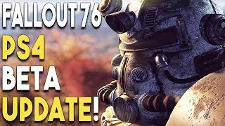 FALLOUT 76 PS4 BETA Update! NEW PlayStation 4 Game TEASED by GREAT Studio!