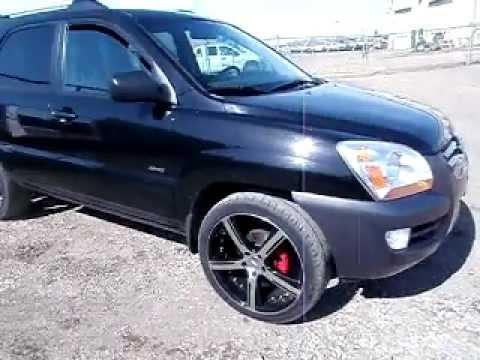 """2005 KIA Sportage AWD, 20""""wheels"""