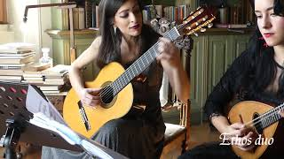 Piazza Vittorio (Choro Maxixe) Celso Machado - Ethos Duo with guitar and Mandolin