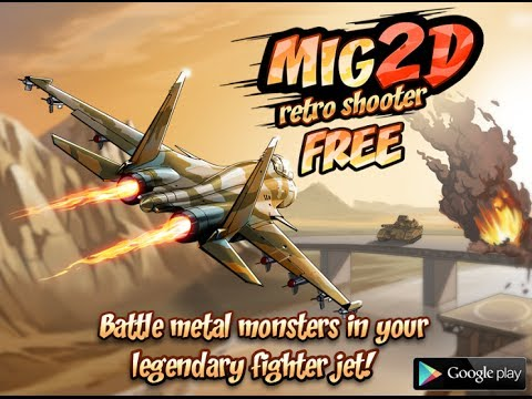 Video of Mig 2D: Retro Shooter!