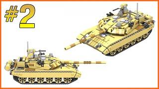 INSTRUCTIONS: LEGO T-90 M TANK   PART 2/3