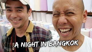 A NIGHT IN BANGKOK, THAILAND! | Vlog #194