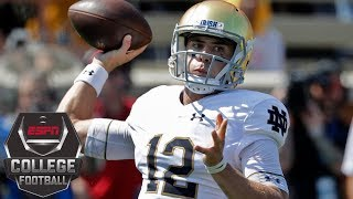 College Football Highlights: Ian Book debuts as starter in Notre Dame win over Wake Forest | ESPN