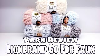 Yarn Review - Lionbrand Go For Faux Yarn | Bag-O-Day Crochet Video