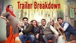Badhaai Ho Trailer Breakdown   Ayushmann Khurrana, Sanya Malhotra  