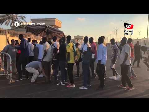 جماهير «اطلع بره» تصل ستاد برج العرب لمؤازرة فريقها أمام الأهلي ببطولة أفريقيا