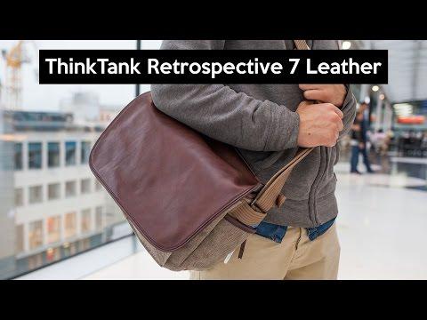 Think Tank Retrospective 7 Leather | die beste Fototasche mit Stil | 4K