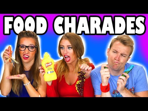 Movie Challenge with Food Charades . Totally TV