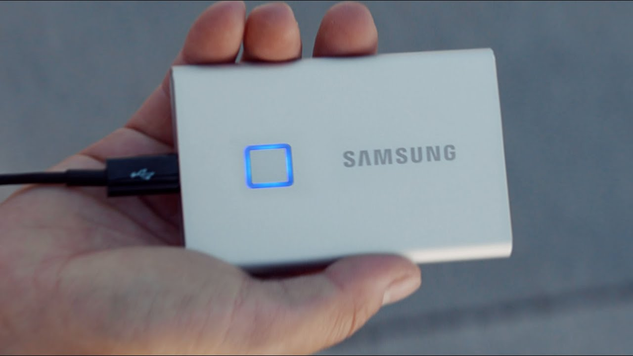 Portable SSD T7 and T7 Touch (Short) | Samsung thumbnail