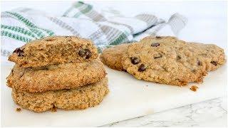 Healthy Cookie Recipe | Sea Salt Caramel vegan paleo