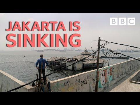 Jakarta – město, které se potápí
