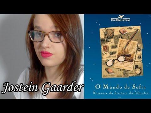 O Mundo de Sofia - Jostein Gaarder