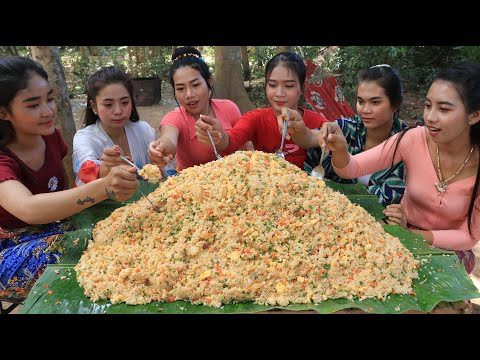 Cooking rice fried recipe in my family – Amazing video