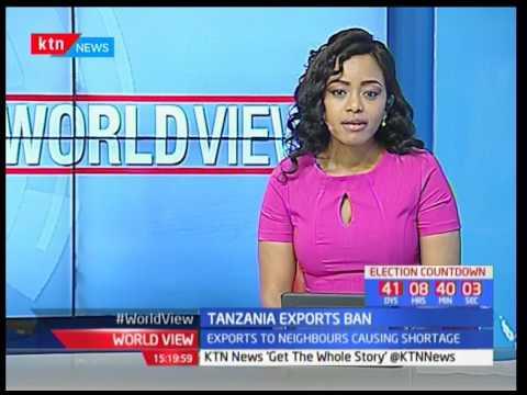 Tanzania Exports Ban : Tanzania bans the export of food grain