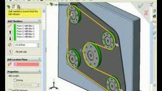Creating Belts, Chains, And Pulleys In A SOLIDWORKS Assembly