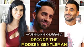 GENTLEMAN KISE KEHTE HAI? REACTION!!! | AYUSHMANN KHURRANA For The Man Company