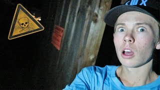CHASED OUT OF ABANDONED HOUSE! *terrifying*
