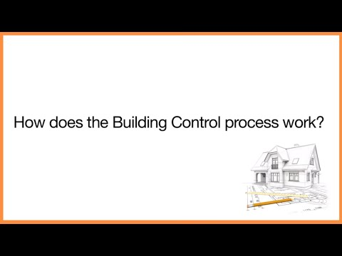 How does the building control process work
