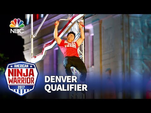 Dan Yager at the Denver Qualifiers - American Ninja Warrior 2017