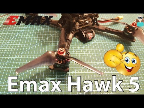 Emax Hawk 5 - 210mm Racing Drone - Setup & Review