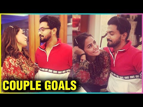 Hina Khan Shows LOVE For Her Boyfriend Rocky Jaisw