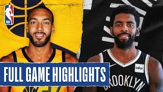 JAZZ at NETS | FULL GAME HIGHLIGHTS | January 14, 2020  The Utah Jazz extend their winning streak to 10 games as they defeated the Brooklyn Nets, 118-107. Donovan Mitchell led the way for the Jazz with 25 PTS (14 in the 4th quarter), while Kyrie Irving tallied 32 PTS, 5 REB and a season-high 11 AST for the Nets.  Catch Wednesday's action on ESPN: Brooklyn Nets at Philadelphia 76ers, 7:00 pm/et & Portland Trail Blazers at Houston Rockets, 9:30 pm/et  Subscribe to the NBA: https://on.nba.com/2JX5gSN   Full Game Highlights Playlist: https://on.nba.com/2rjGMge  For news, stories, highlights and more, go to our official website at https://nba_webonly.app.link/nbasite  Get NBA LEAGUE PASS: https://nba.app.link/nbaleaguepass5