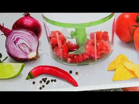Picadora de verduras manual. Cortador de verduras