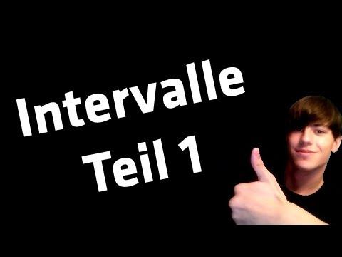 Musiktheorie - Intervalle - Teil 1