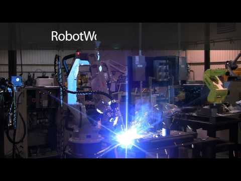Motoman's HP20-6 Industrial Robot Arm