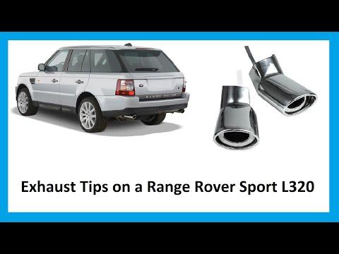 range rover sport twin exhaust