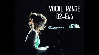 The Vocal Range of Fiona Apple