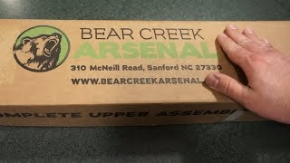 Bear Creek Arsenal Bear Essential Rifle Tabletop Review and
