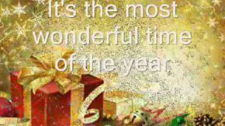 It's The Most Wonderful Time Of The Year Song  - Lyrics And Slide Show