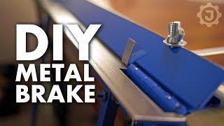 DIY Sheet Metal Bending Brake: No Welding