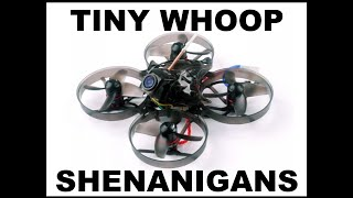 Tiny whoop fpv - first tricks